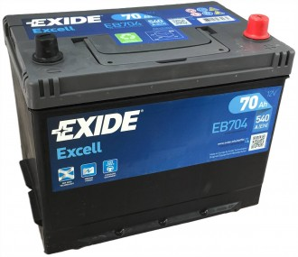 АКБ EB704 EXIDE Excell