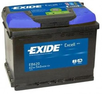 Aккумулятор EB620 Exide Exell