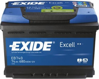 Aккумулятор EB740 Exide Exell