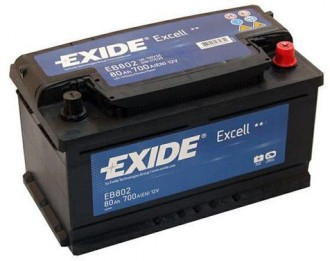Aккумулятор EB802 Exide Exell